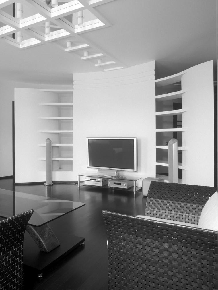 Квартира. гостиная из проекта , фото №67863
