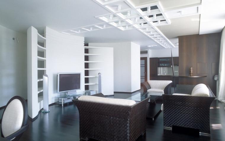 Квартира. гостиная из проекта , фото №67866