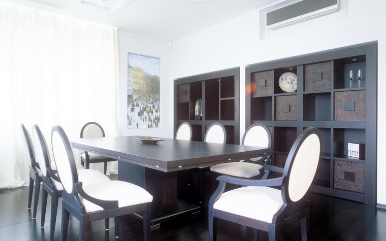 Квартира. столовая из проекта , фото №67868