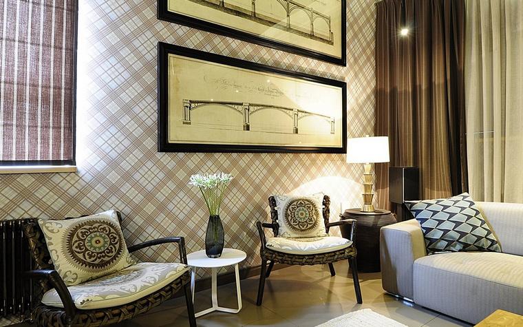 Фото № 67925 гостиная  Квартира