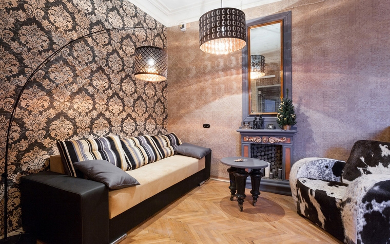 Фото № 67931 гостиная  Квартира