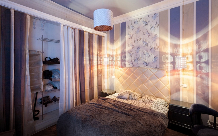 интерьер спальни - фото № 67938