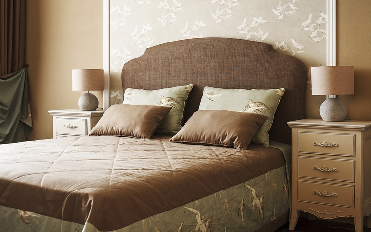 интерьер спальни - фото № 67962