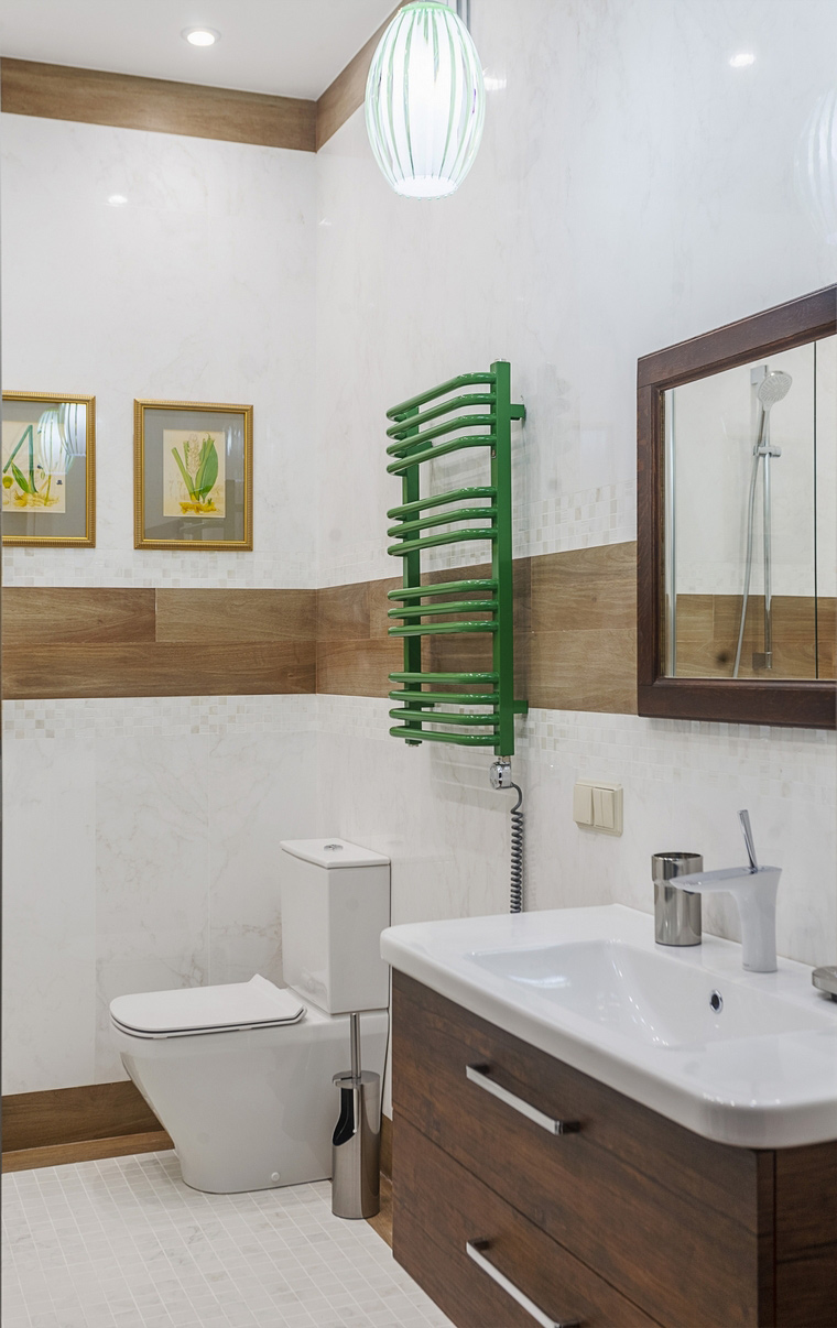 Фото № 67986 ванная  Квартира