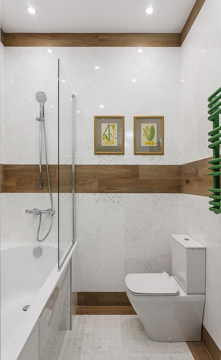Фото № 67987 ванная  Квартира