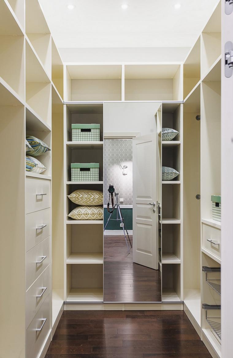 Фото № 67995 гардеробная  Квартира