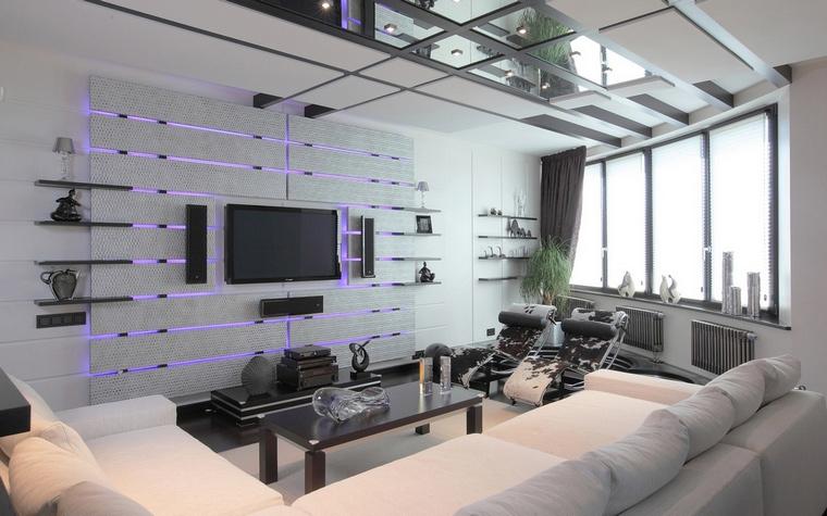 интерьер гостиной - фото № 68003