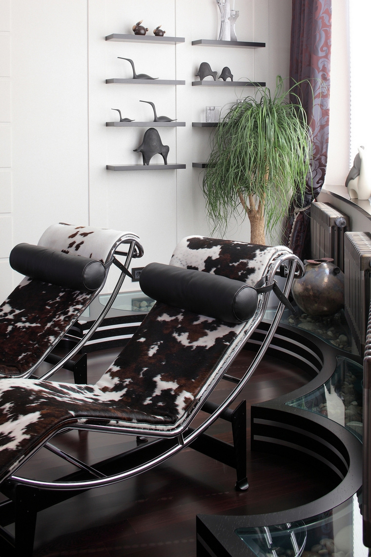 интерьер гостиной - фото № 68006
