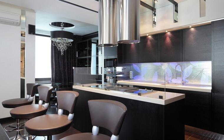 Квартира. кухня из проекта , фото №68009