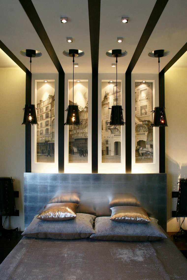 интерьер спальни - фото № 68011