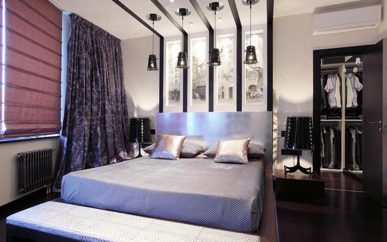 Квартира. спальня из проекта , фото №68012