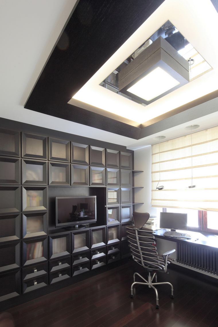 интерьер кабинета - фото № 68015