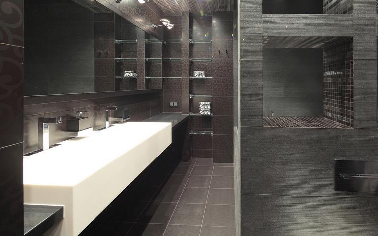 Квартира. ванная из проекта , фото №68017