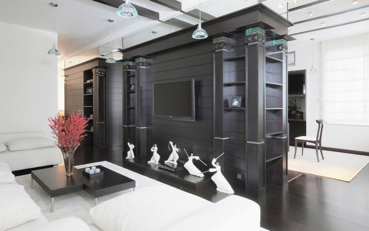 Квартира. гостиная из проекта , фото №68029