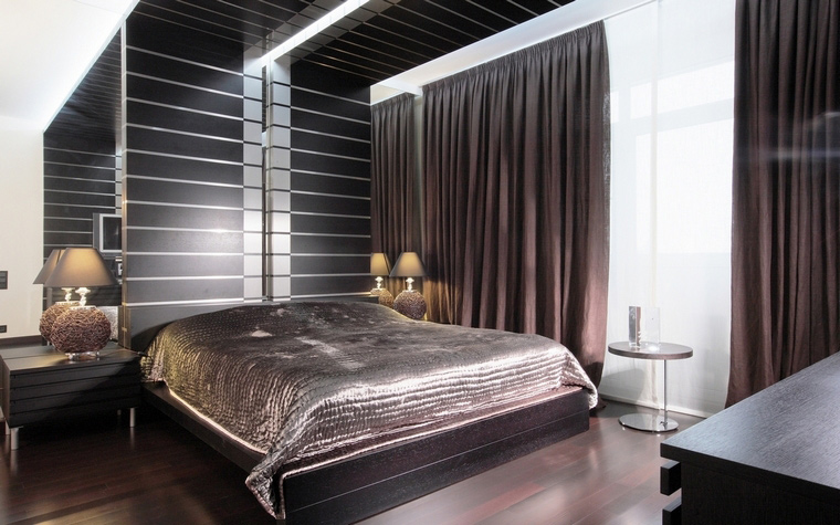 Квартира. спальня из проекта , фото №68042