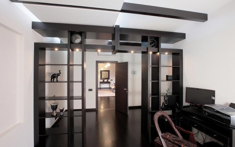 Квартира. кабинет из проекта , фото №68045