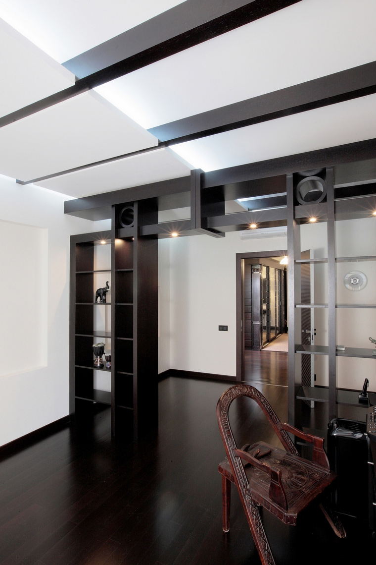Квартира. кабинет из проекта , фото №68046