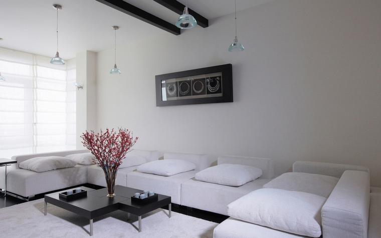 Квартира. гостиная из проекта , фото №68034