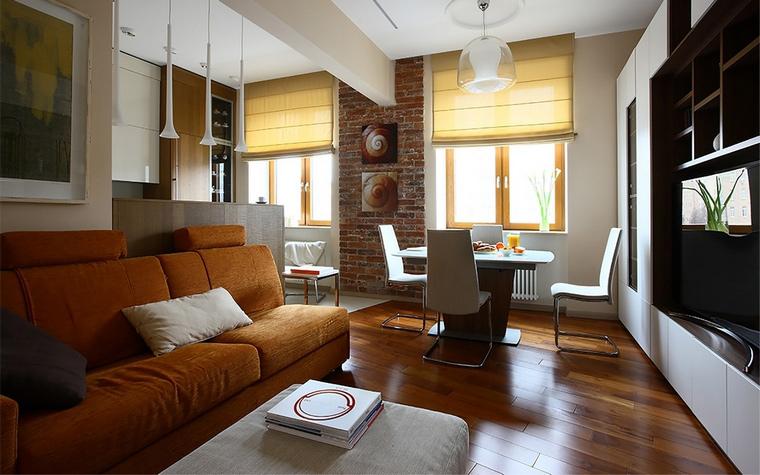 Фото № 68053 гостиная  Квартира