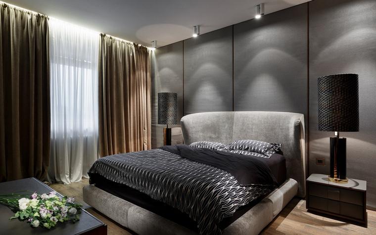 Квартира. спальня из проекта , фото №68144