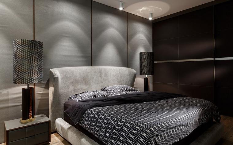 Квартира. спальня из проекта , фото №68145