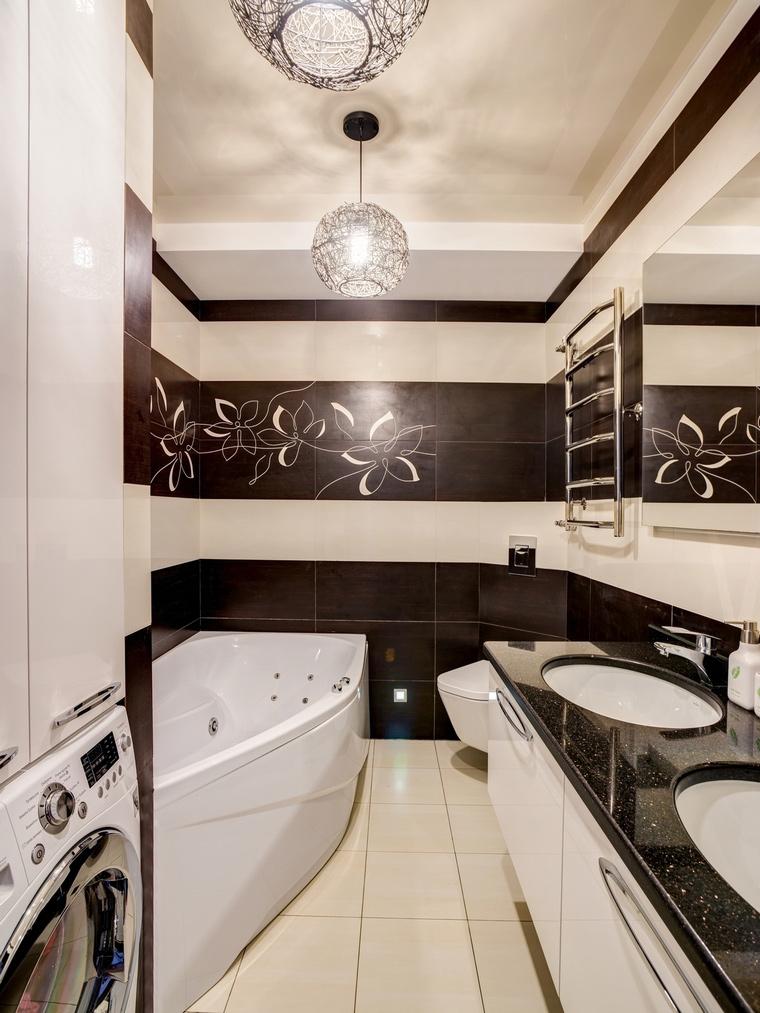 Квартира. ванная из проекта , фото №68233
