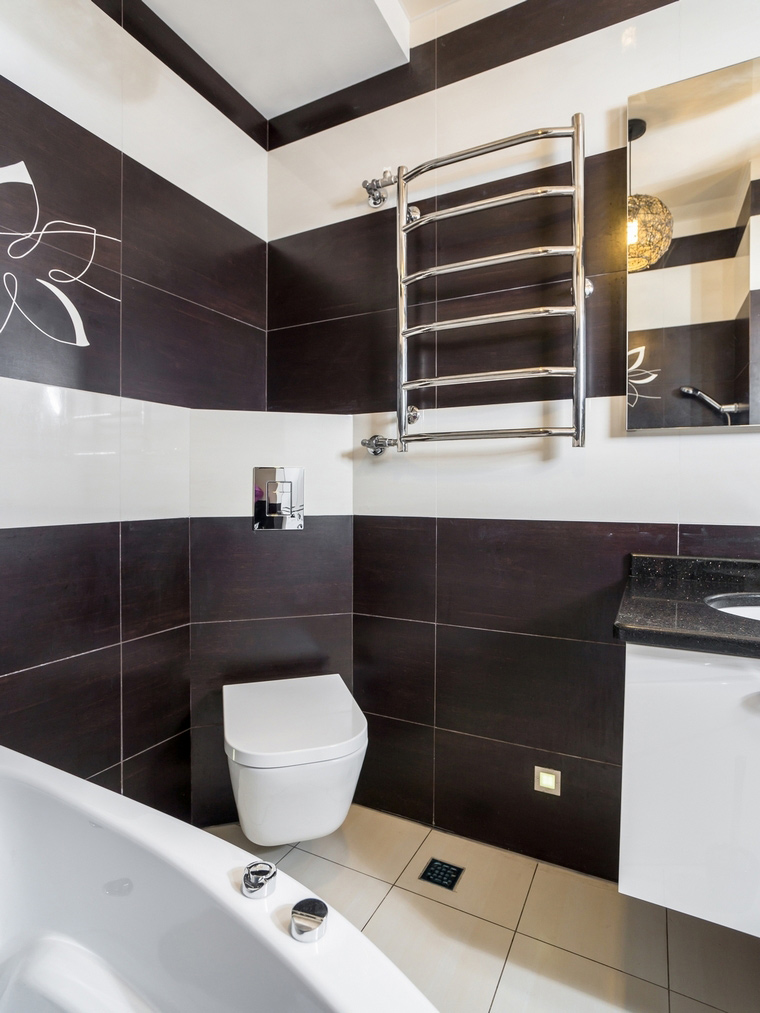 Квартира. ванная из проекта , фото №68234