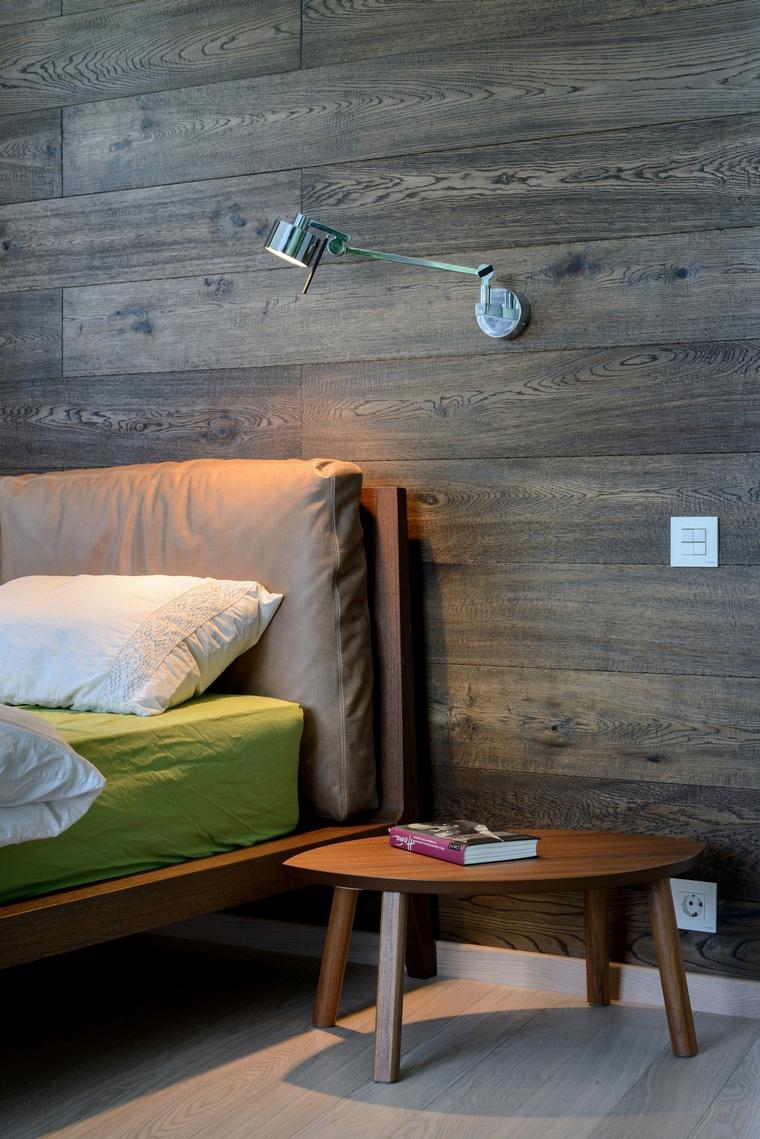 Квартира. спальня из проекта , фото №68259
