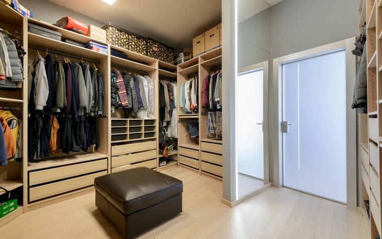 интерьер гардеробной - фото № 68274