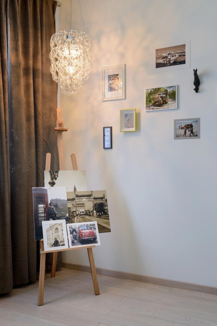 Квартира. спальня из проекта , фото №68256