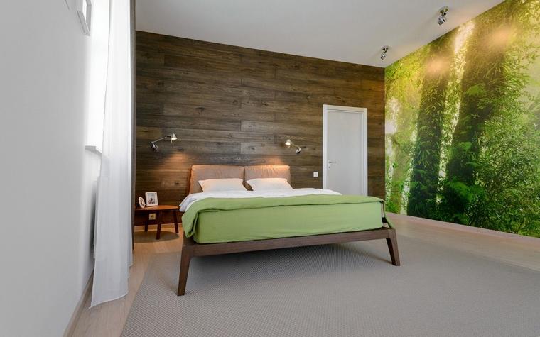 Квартира. спальня из проекта , фото №68258