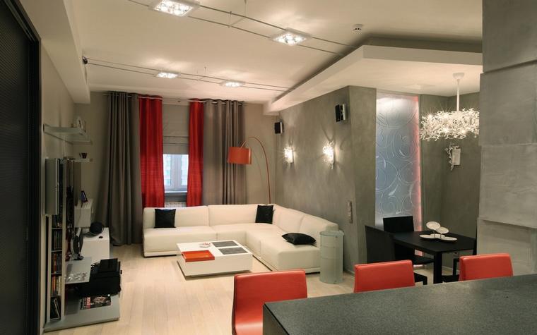 интерьер гостиной - фото № 68295