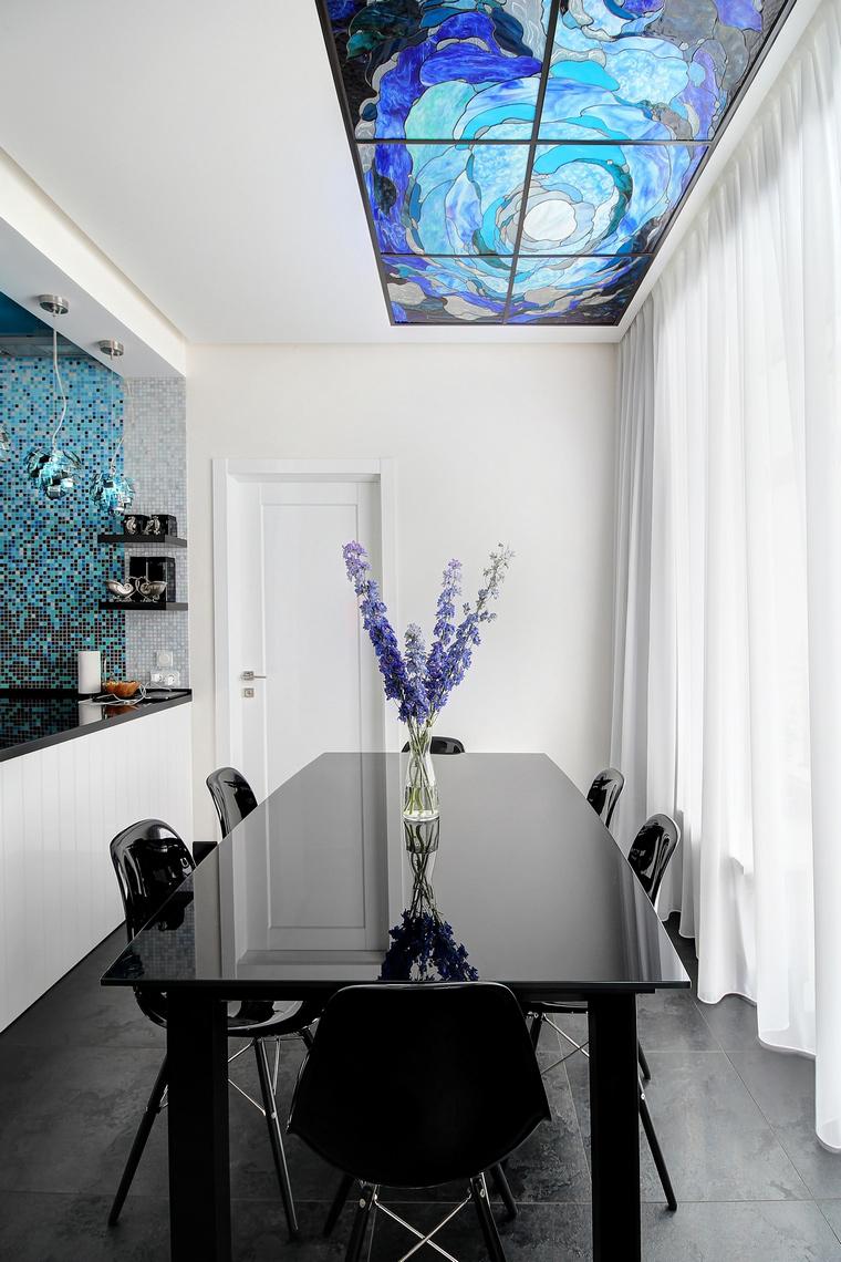Квартира. столовая из проекта , фото №68323