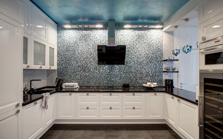 Квартира. кухня из проекта , фото №68319