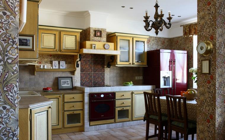 Фото № 68336 кухня  Квартира