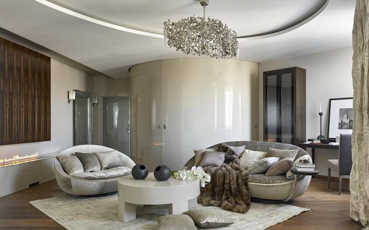 интерьер гостиной - фото № 68466