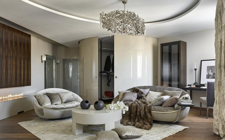 интерьер гостиной - фото № 68467