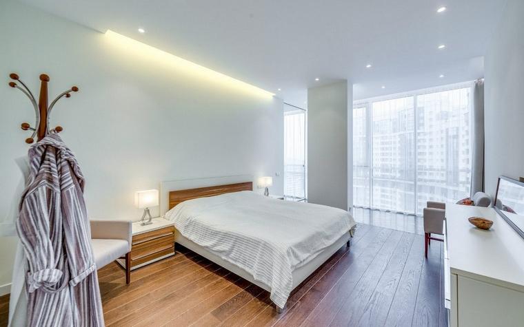 Квартира. спальня из проекта , фото №68519