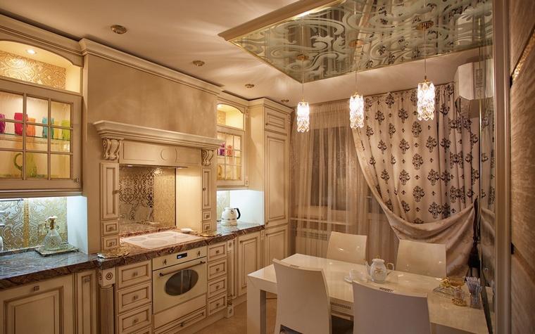 Фото № 68546 кухня  Квартира