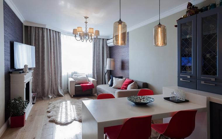 интерьер гостиной - фото № 68564