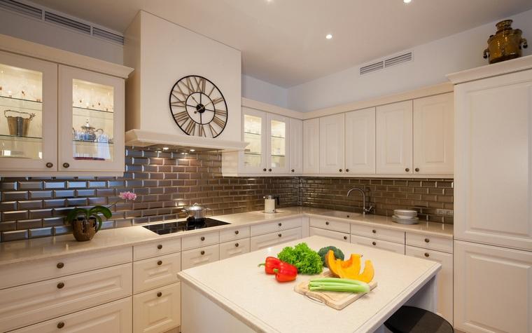 Фото № 68634 кухня  Квартира