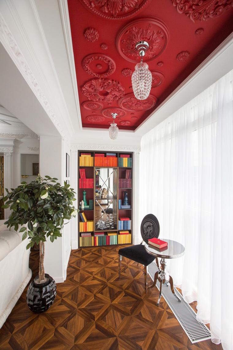 Квартира. кабинет из проекта , фото №68712