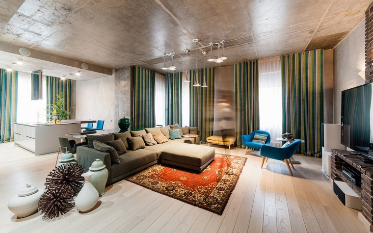 интерьер гостиной - фото № 68727