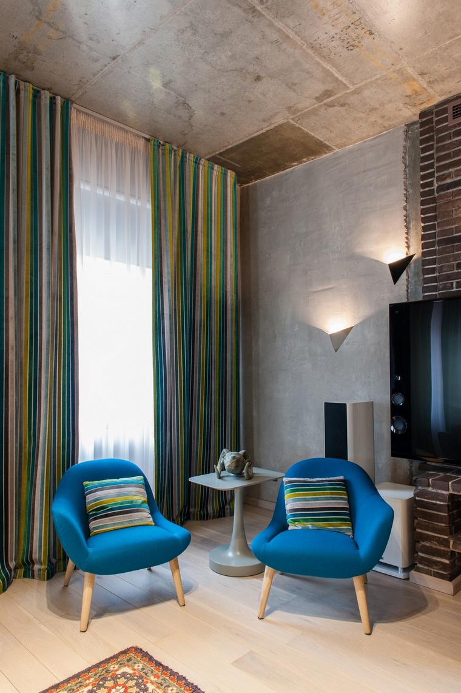 интерьер гостиной - фото № 68729