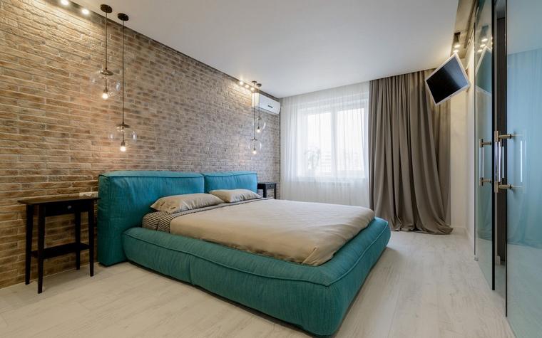 Квартира. спальня из проекта , фото №68790