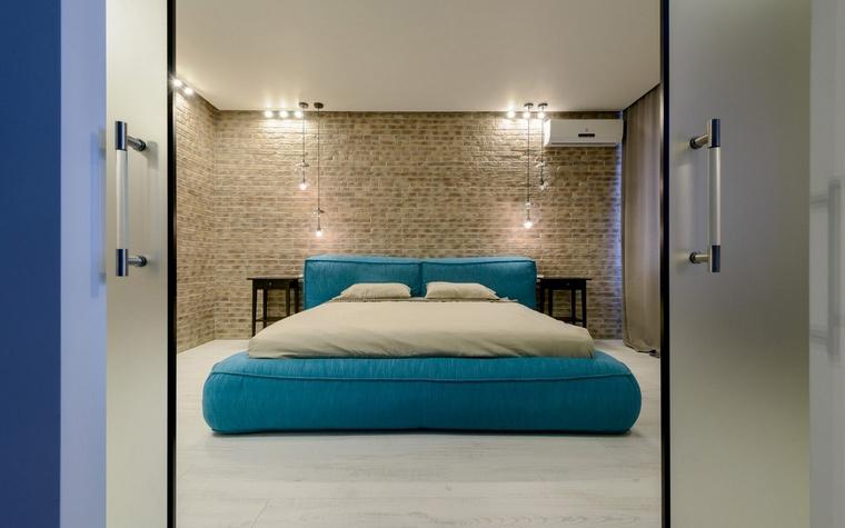 Квартира. спальня из проекта , фото №68793