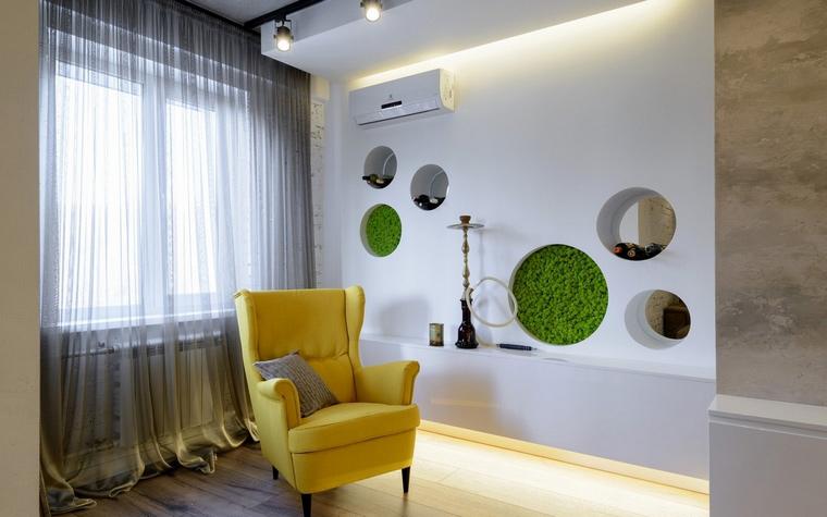 интерьер гостиной - фото № 68805