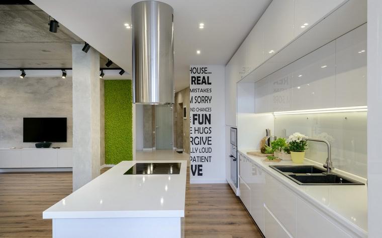 Фото № 68786 кухня  Квартира