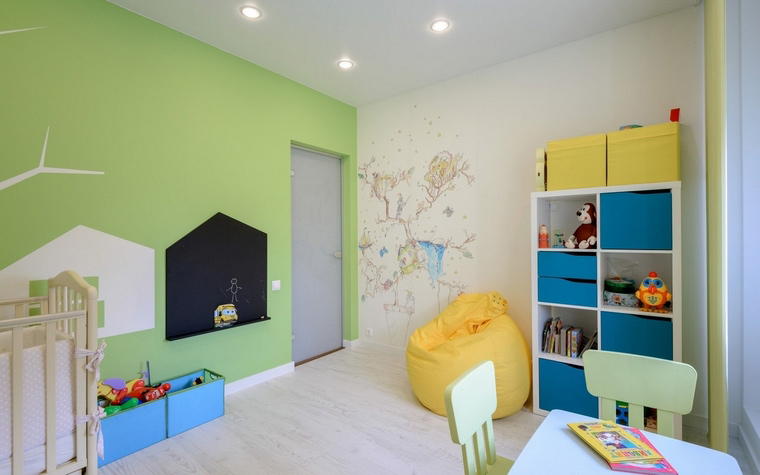Фото № 68796 детская  Квартира