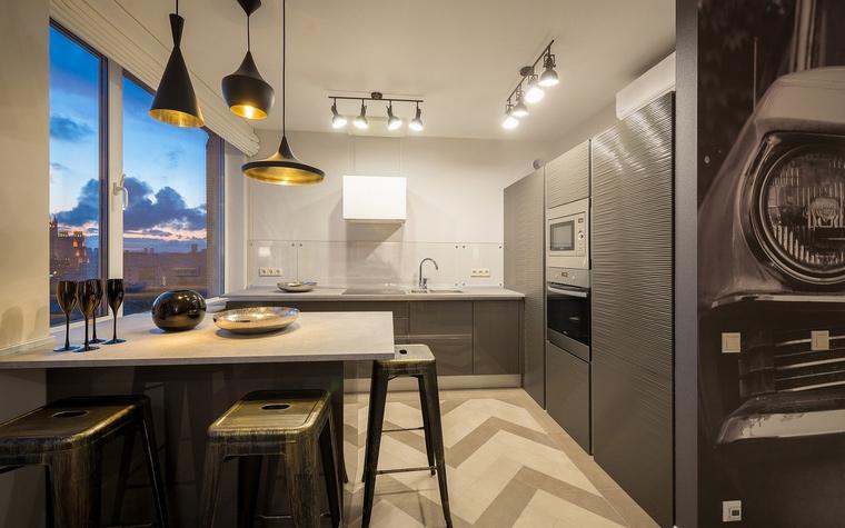 Фото № 68821 кухня  Квартира